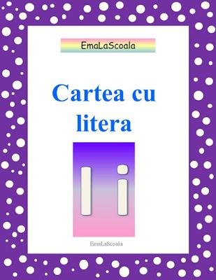 carte cu litera i